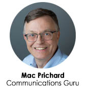 Mac Prichard - Mac's List, Prichard Communications