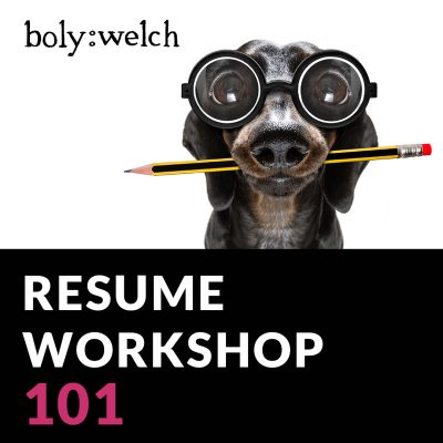 Resume Workshop 101 Insta